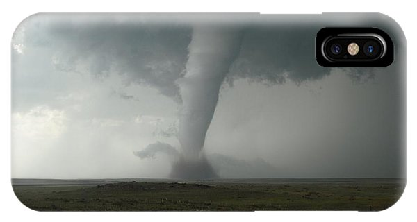 Tornado In The High Plains IPhone Case