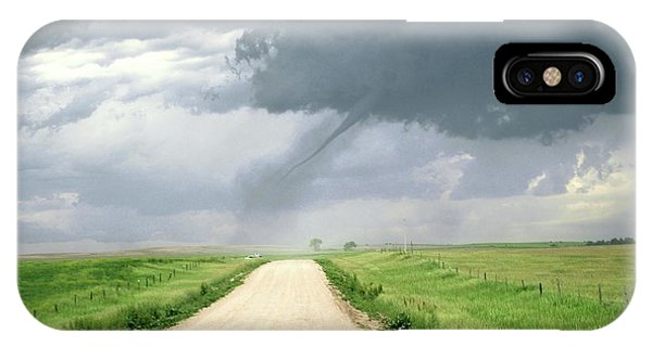 North Dakota Badlands iPhone Case - Tornado by Reed Timmer/science Photo Library