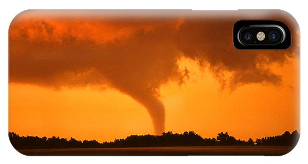 Tornado Sunset IPhone Case