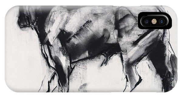 Minotaur iPhone Case - Toro Azul   Study by Mark Adlington