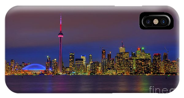 Toronto By Night... IPhone Case