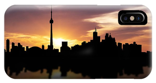 Toronto Canada Sunset Skyline  IPhone Case