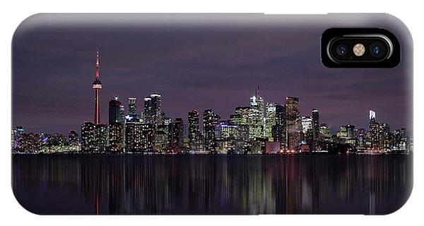 Tower iPhone Case - Toronto by C.s. Tjandra