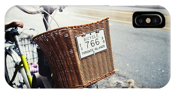 Toronto Islands Bicycle Phone Case by Tanya Harrison