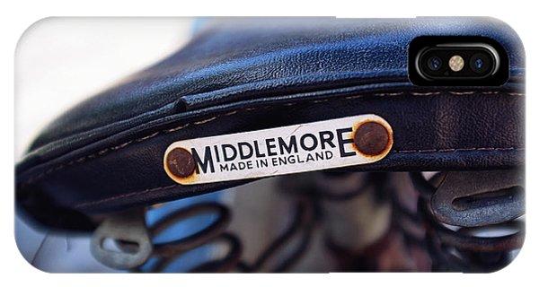 Toronto Middlemore Bike Seat Phone Case by Tanya Harrison