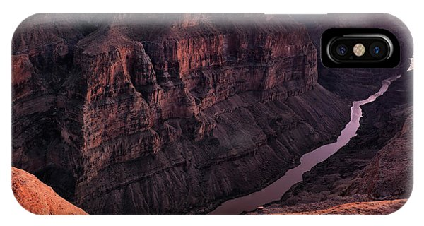 Grand Canyon iPhone Case - Toroweap Overlook At Sunset by Leland D Howard