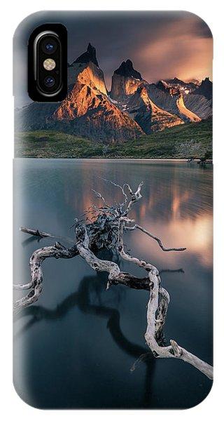 Long Exposure iPhone Case - Torres Del Paine by Karol Nienartowicz