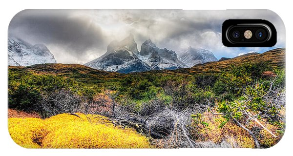 Torres Del Paine Peaks Phone Case by Roman St