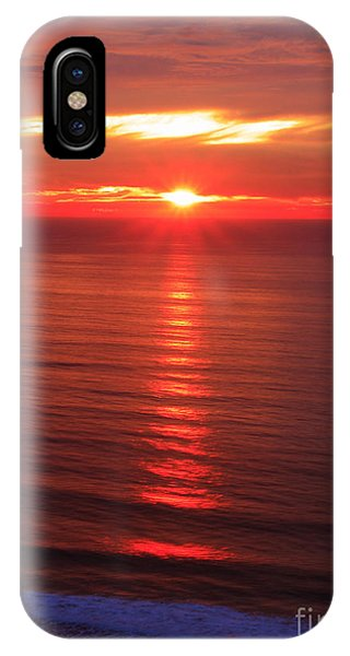 Torrey Pines Starburst IPhone Case