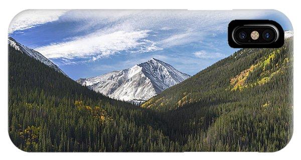 Indian Peaks Wilderness iPhone Case - Torreys Peak 3 by Aaron Spong