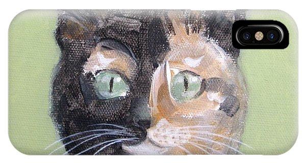 Tortie Cat IPhone Case