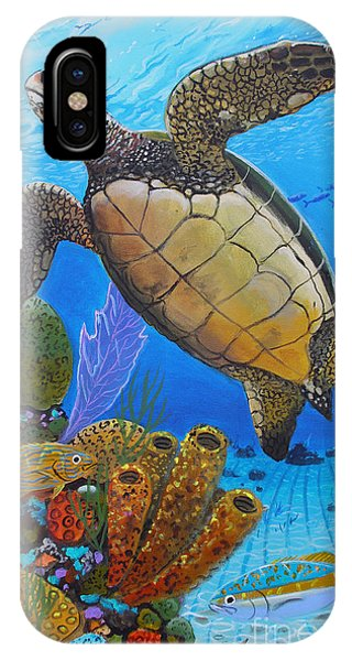 Bahamas iPhone Case - Tortuga by Carey Chen