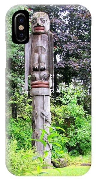 Totem Park Wrangal Alaska IPhone Case
