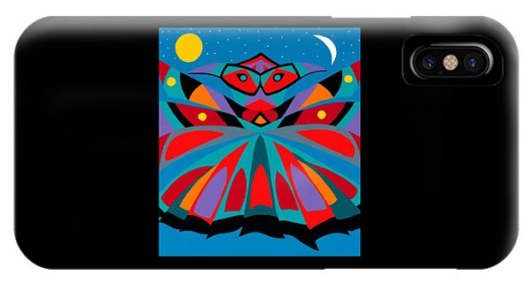 iPhone Case - Totem by Synthia SAINT JAMES