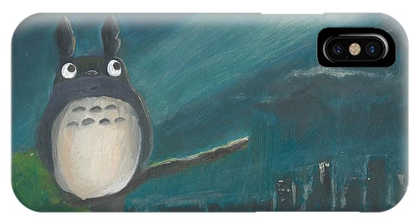 Totoro Batman And Los Angeles IPhone Case