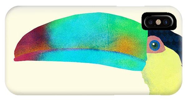 Bird iPhone Case - Toucan by Eric Fan