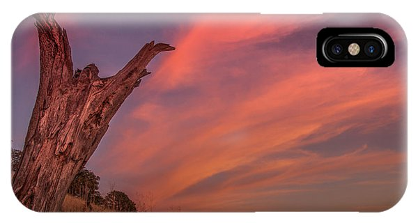 Touch The Sky IPhone Case