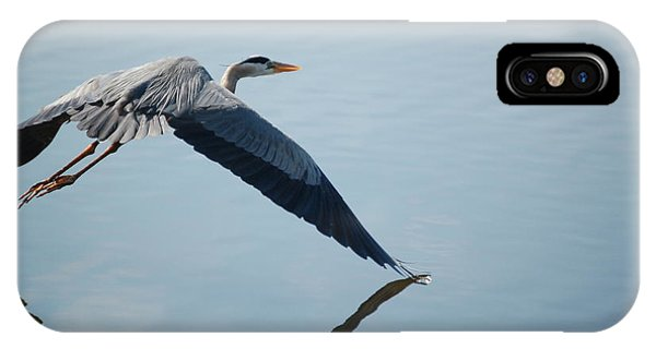 Touch The Water With A Wing IPhone Case