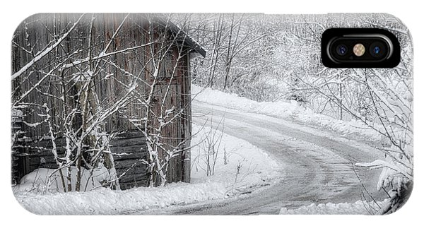 Touched By Snow IPhone Case
