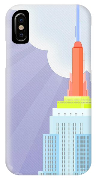 Empire State Building iPhone Case - Touching Heaven by Nishanth Gopinathan