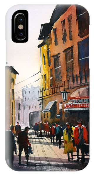 Tourists In Italy IPhone Case