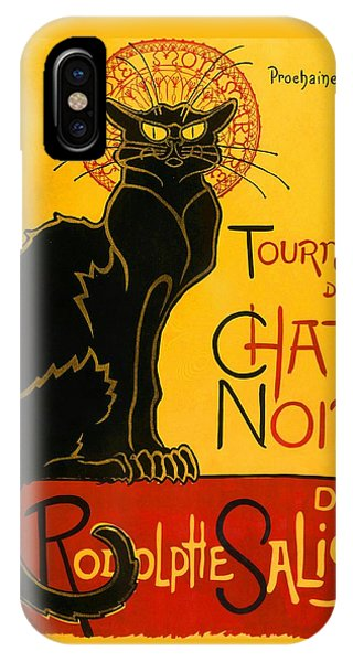 Tournee Du Chat Noir IPhone Case