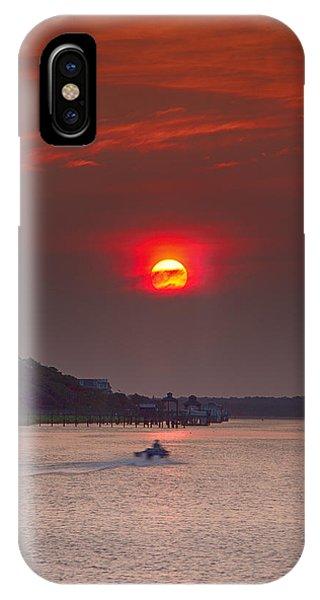 Toward An Angry Sun IPhone Case