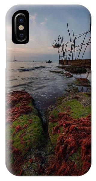 Alga iPhone X Case - Towards The Night by Davorin Mance