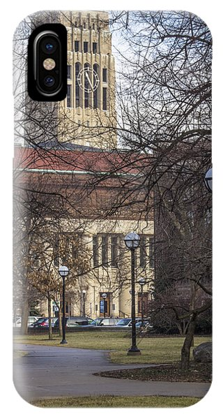 Tower At U Of M IPhone Case