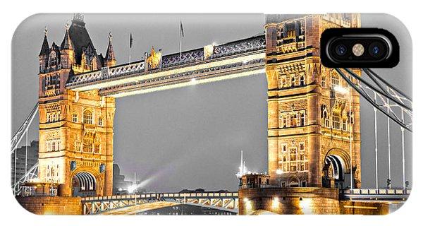 Tower Bridge - London - Uk IPhone Case