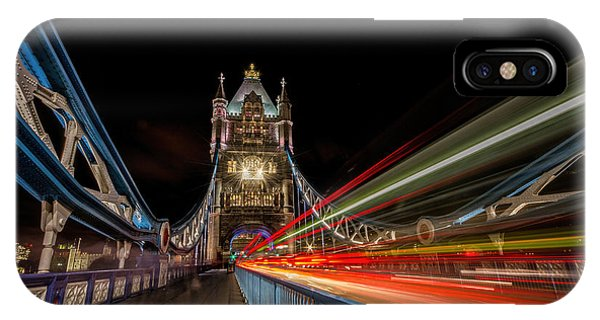 Tower Bridge At Night IPhone Case