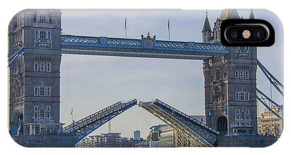 Tower Bridge Opened IPhone Case