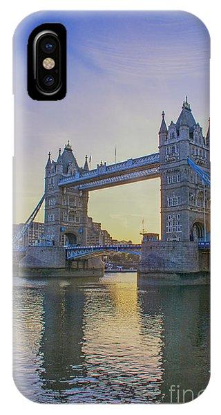 Tower Bridge Sunrise IPhone Case