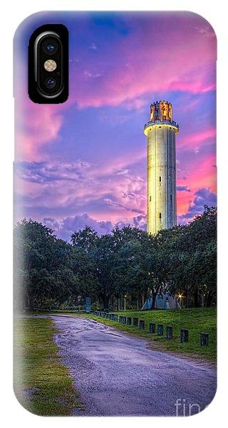 Tower In Sulfur Springs IPhone Case