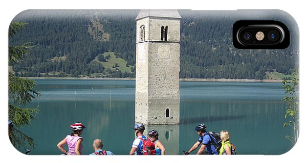Tower In The Lake IPhone Case