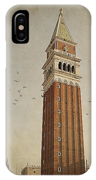 Tower In Venice IPhone Case