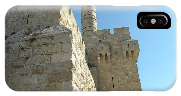 Tower Of David Israel IPhone Case