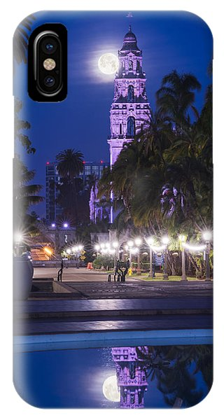 Towering Moon IPhone Case