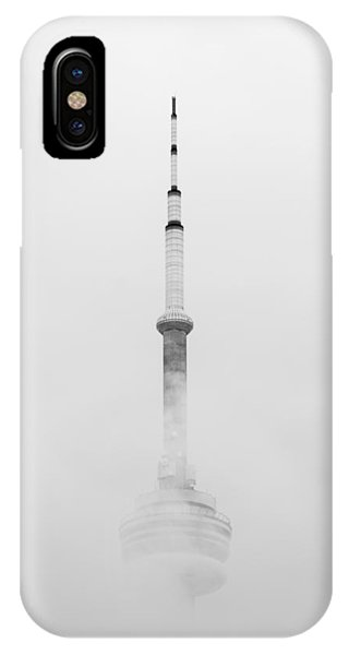 Towering Through The Fog IPhone Case