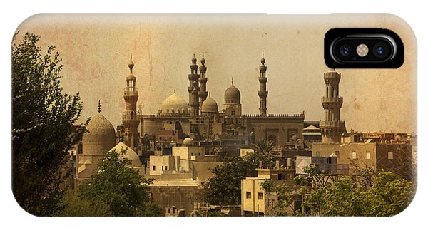 Towers Of Muslims Mosque In Cairo IPhone Case