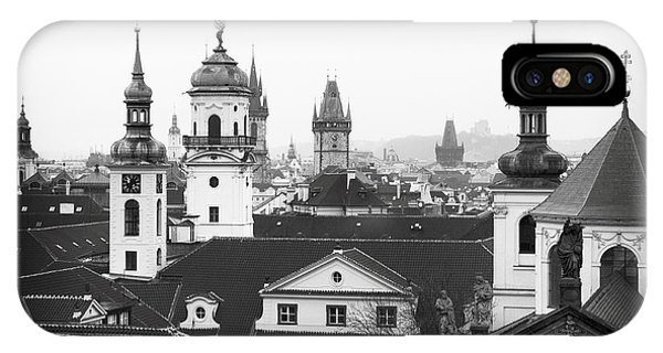 Towers Of Prague IPhone Case