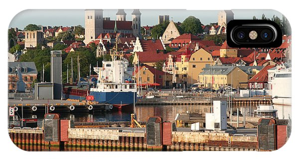 Town Harbour IPhone Case