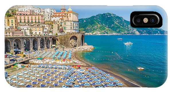 Town Of Atrani IPhone Case