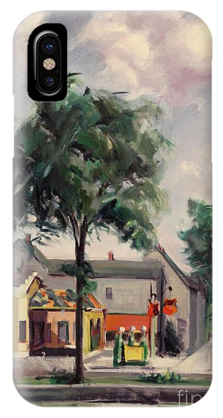 Town Street 1939 IPhone Case