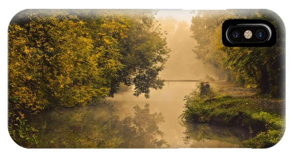 Towpath On The Champlain Canal Phone Case by Julie Palyswiat