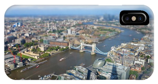 London Bridge iPhone Case - Toy Town by Peter Bromfield