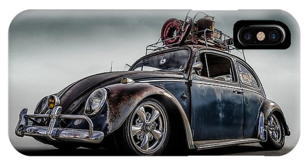 Beetle iPhone Case - Toyland Express by Douglas Pittman