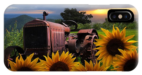 Nc iPhone Case - Tractor Heaven by Debra and Dave Vanderlaan