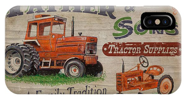 Plowing iPhone Case - Tractor Supplies by JQ Licensing