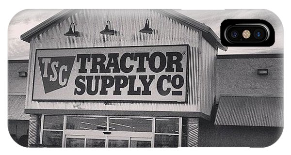 Professional iPhone Case - Tractor Supply Store by Kay Pickens